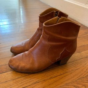 Isabel Marant Dicker boot brown leather 39